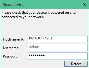 Detec device IP and credentials
